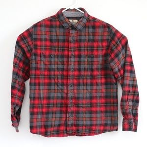 Woolrich Mens Longsleeve Button Flannel Shirt